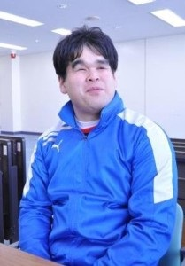 みんなで守り、みんなで点を獲りに行くチームを目指す。男子チーム・信澤キャプテン。