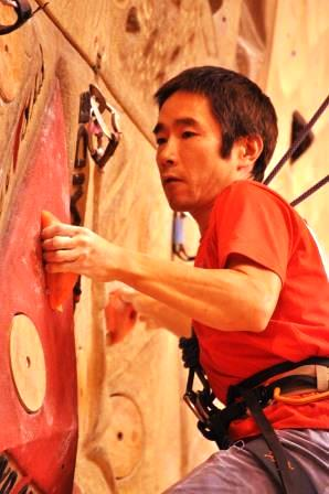 総合1位の小林幸一郎選手
