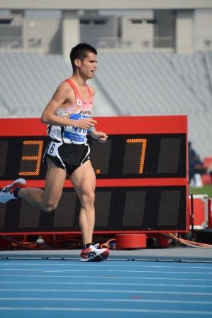 5000m(T12)堀越信司選手の走り