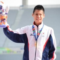 5000m,1500mで金メダルを獲得した堀越信司選手