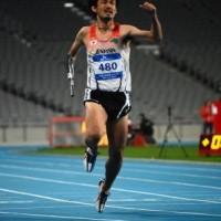 男子T47 100m決勝 多川知希選手の走り
