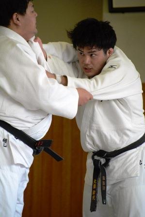 90kg級 北薗新光選手(写真右)
