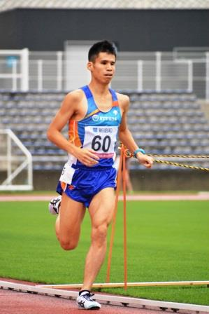 T12 堀越信司選手 (2015年7月 身体障害者陸上関東選手権にて撮影)