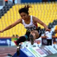 走り幅跳び・女子(T42)大西瞳選手