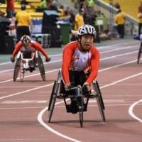 男子(T52)400m決勝
