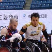 3位決定戦 日本対アメリカ。 キャプテンの池透暢選手(写真右)