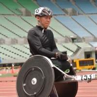 小島将平選手(2014年、大阪・長居陸上競技場にて撮影)