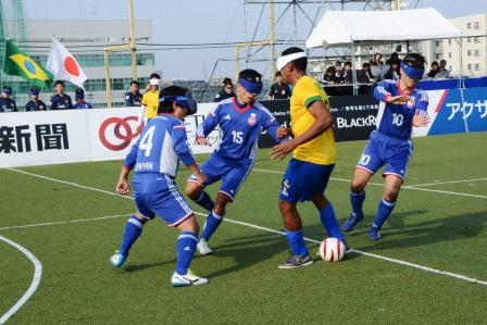 ブラジルの選手は、フィジカルの強さ、シュートの精度の高さが光る