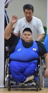 松崎選手と中ノ瀬さん