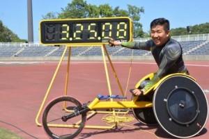 1500m世界新記録を出した佐藤