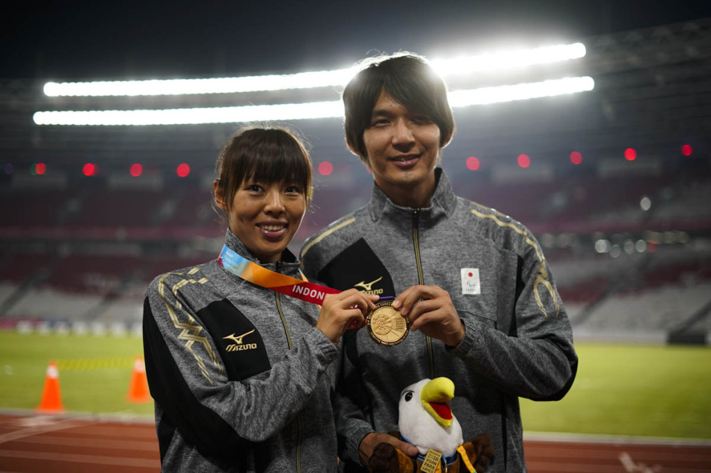 澤田優蘭選手(写真左)