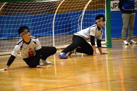 日本Bチームの佐野(左)と金子(右)