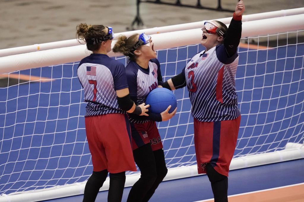 優勝決定の瞬間、歓喜のアメリカチーム
