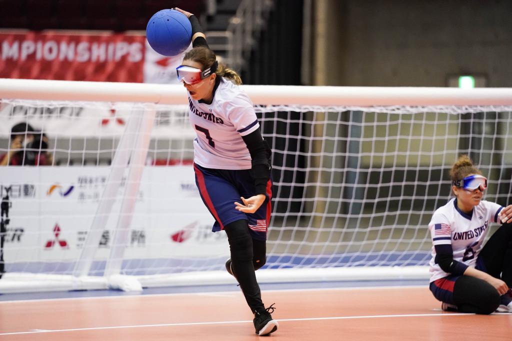 アメリカ Eliana Mason選手