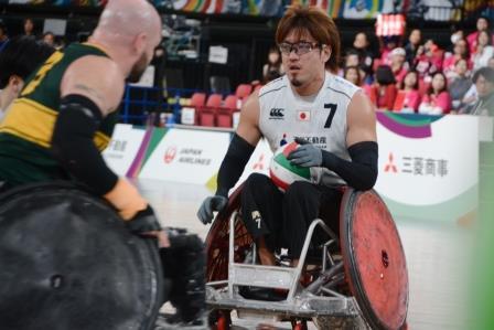 日本代表 池崎大輔選手