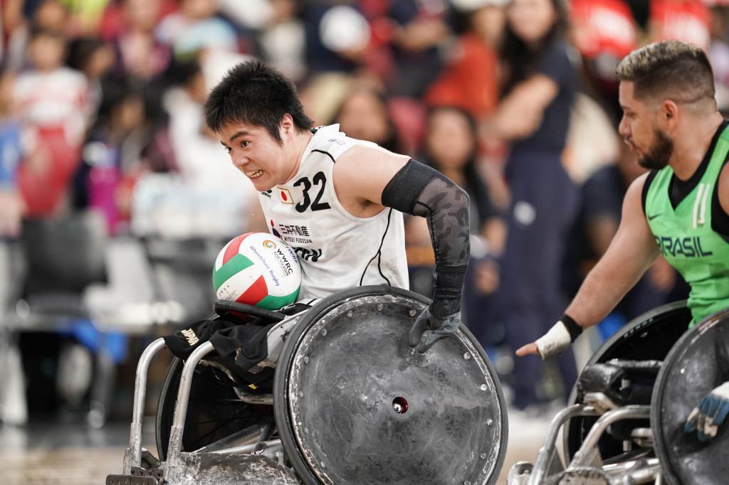 日本代表32番 橋本勝也選手