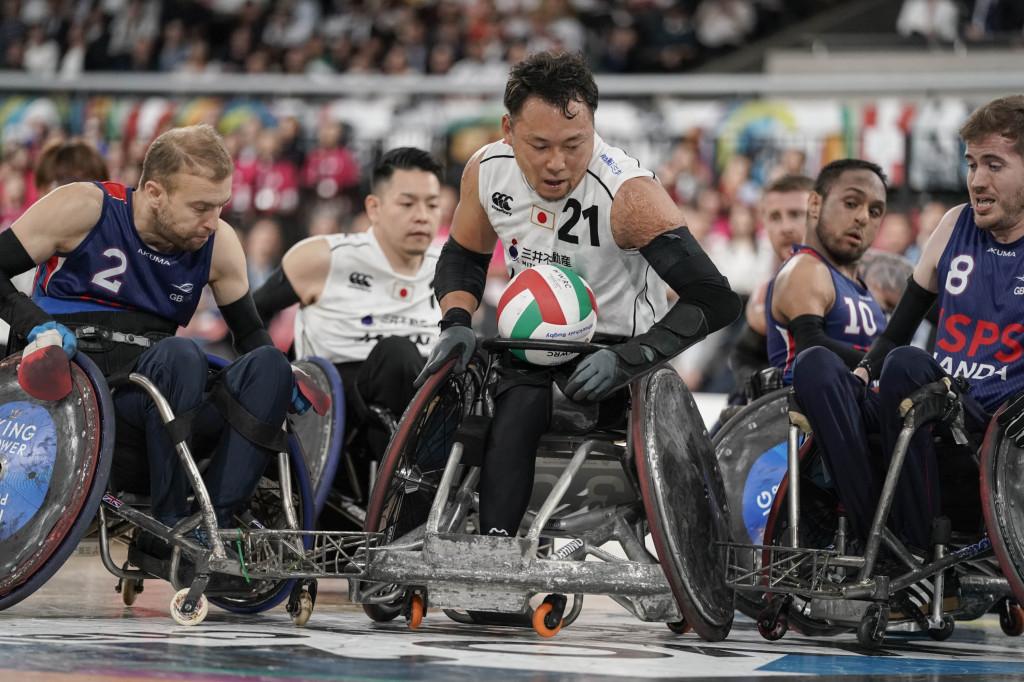 車いすラグビーワールドチャレンジ2019 2019/10/18 東京体育館
