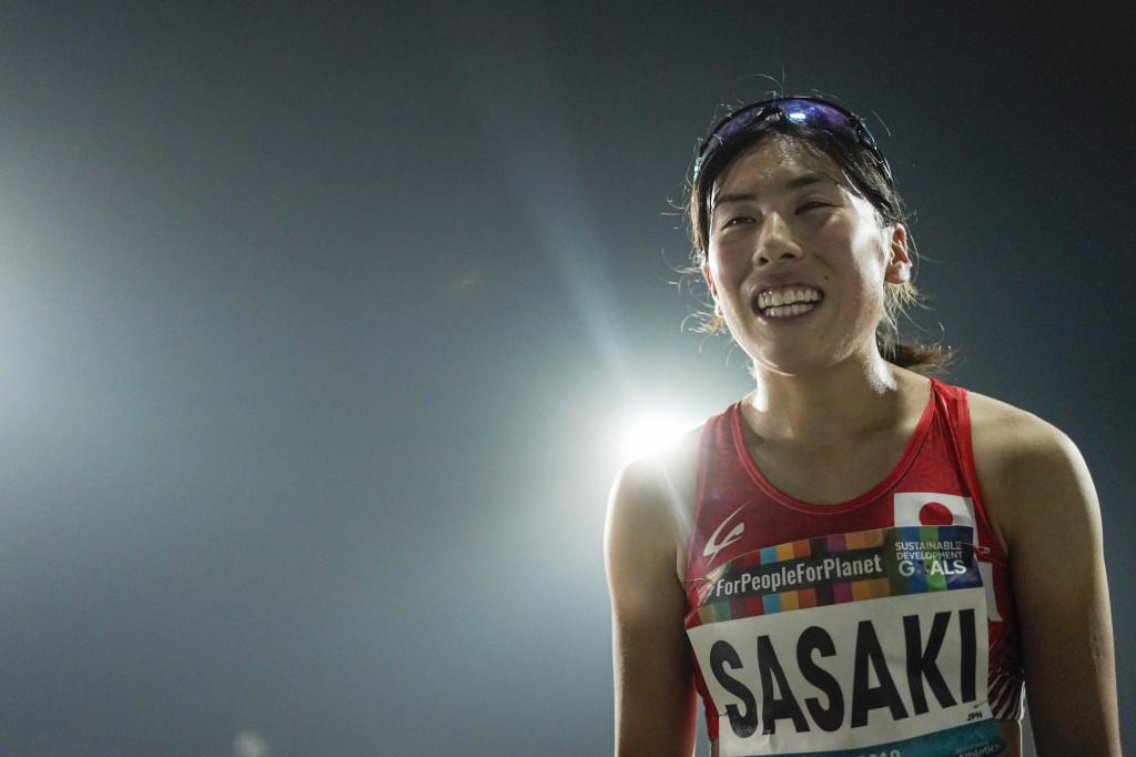 女子T13(視覚障害) 400m決勝 佐々木真菜選手 4位