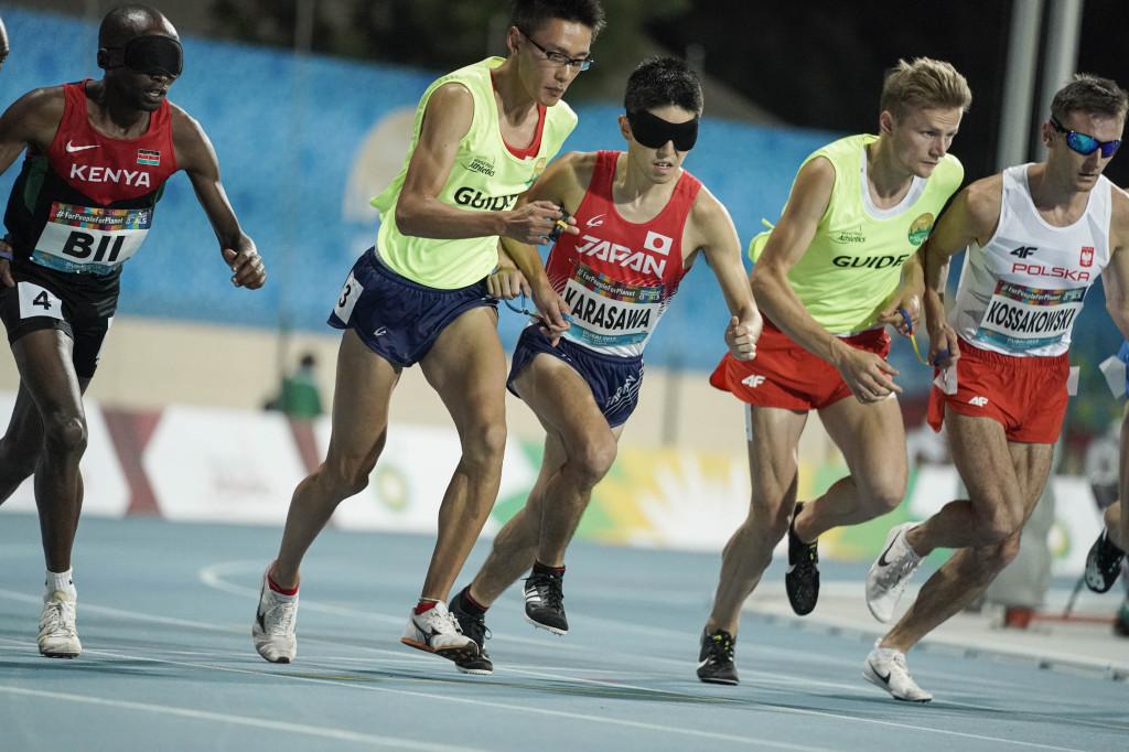 男子T11(視覚障害)1500m予選 唐澤剣也選手・茂木洋晃ガイド 決勝進出