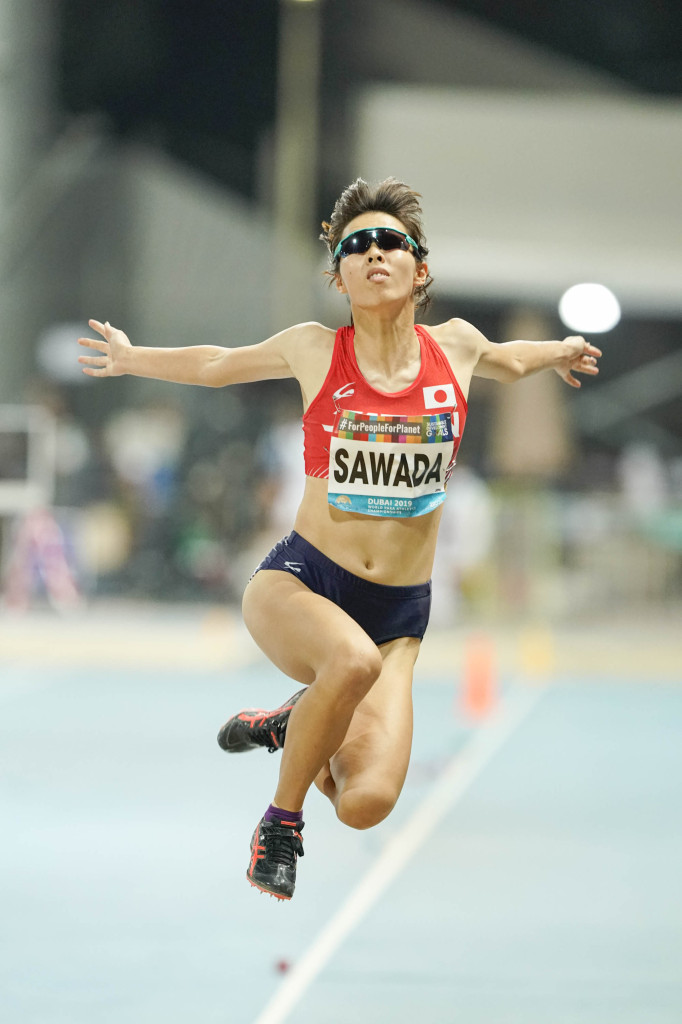 女子T12・走り幅跳び 澤田優蘭選手 5m27 5位